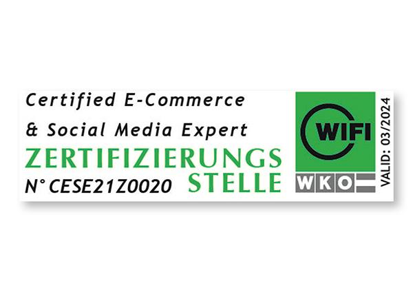 Zertifizierung: E-Commerce & Social Media Expert