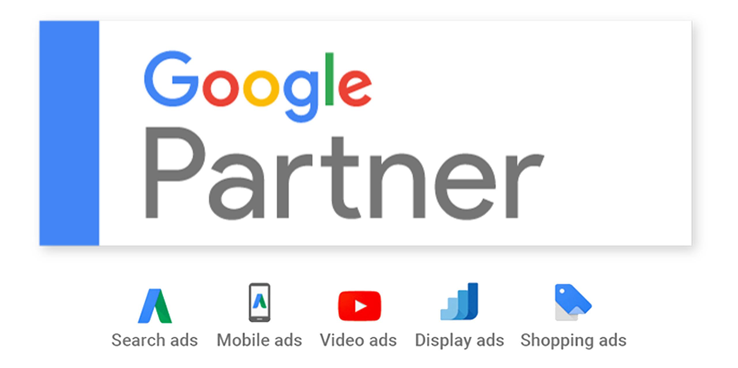 Wir haben das Gütesiegel erhalten: Google Partner