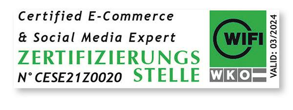 Zertifikat zum E-Commerce & Social Media Expert