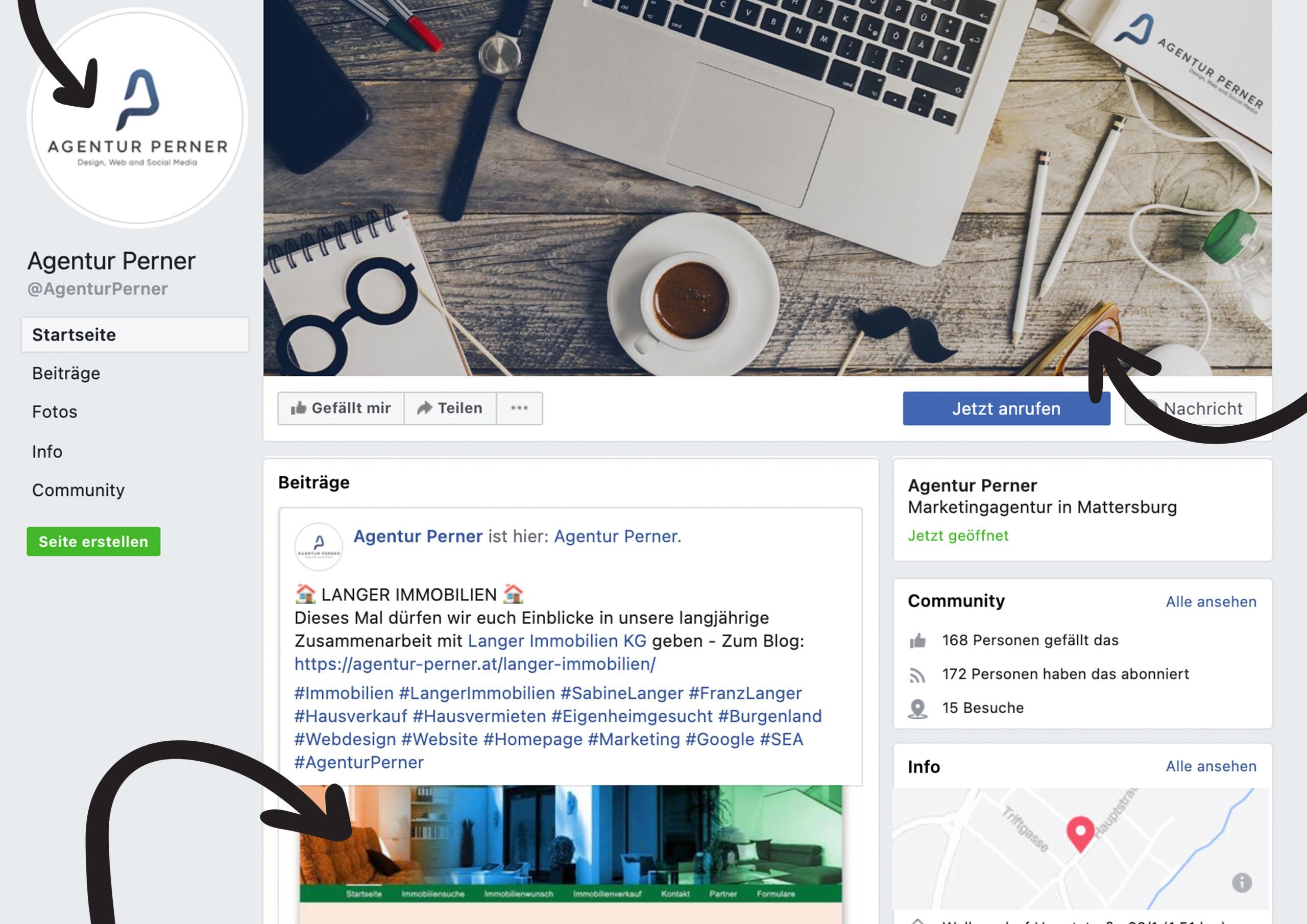 Bei uns finden Sie aktuellen und richtigen Bildgrößen und Formate für Facebook und Instagram.